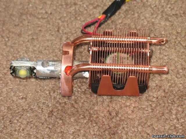 Радиатор для светодиода своими руками