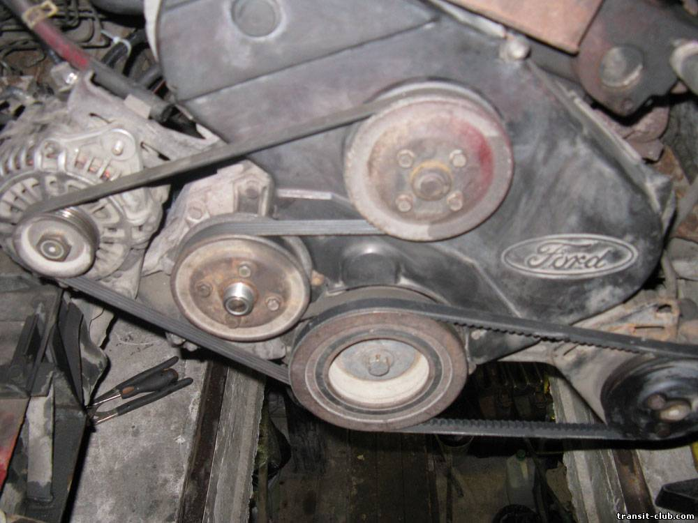 Замена ремня генератора на форд
