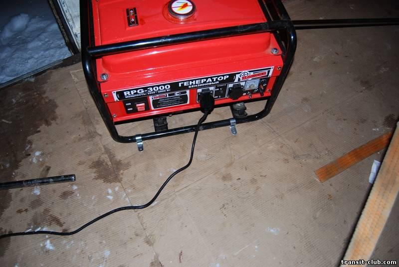 Бензиновый генератор как сделать