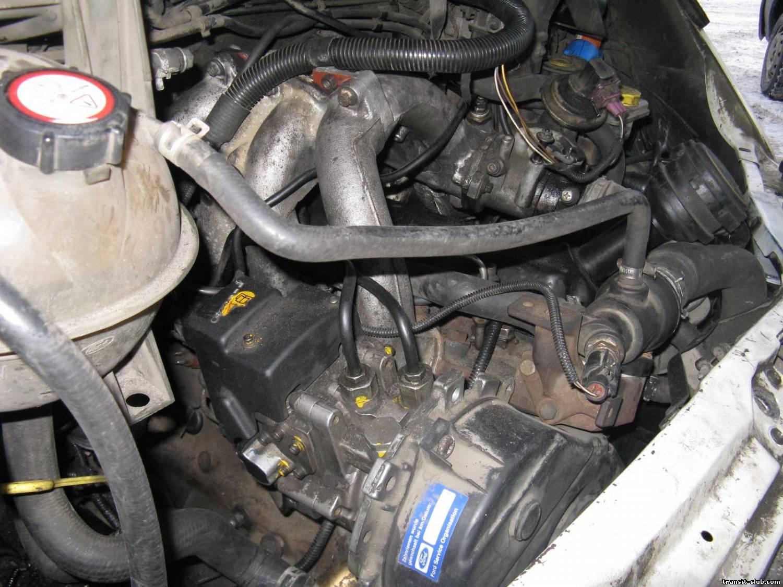 Схема двигателя форд транзит дизель