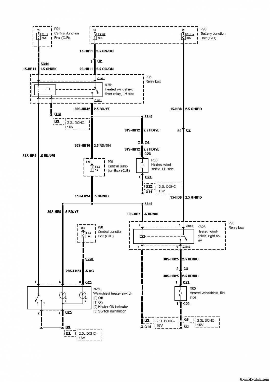 Схема подключения подогрева лобового стекла приора